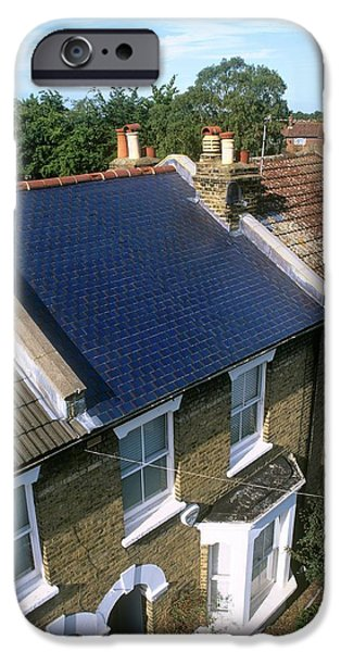 Solar Tiles IPhone Case by Martin Bond