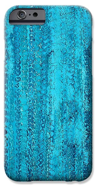 Some Call It Rain Original Painting IPhone Case by Sol Luckman