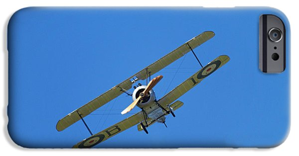 Sopwith Camel - Wwi Fighter Plane IPhone Case by David Wall
