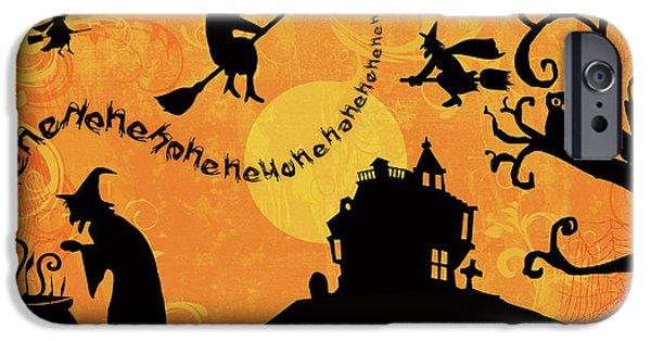 Sounds Like Halloween IIi IPhone Case by Belinda Aldrich