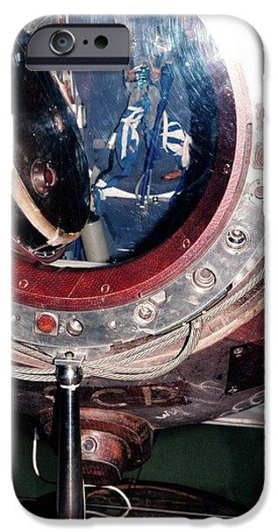 Soyuz 29 Landing Capsule IPhone Case by Detlev Van Ravenswaay