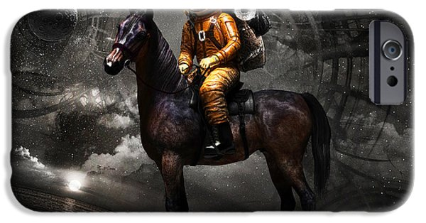 Space Tourist IPhone 6s Case by Vitaliy Gladkiy