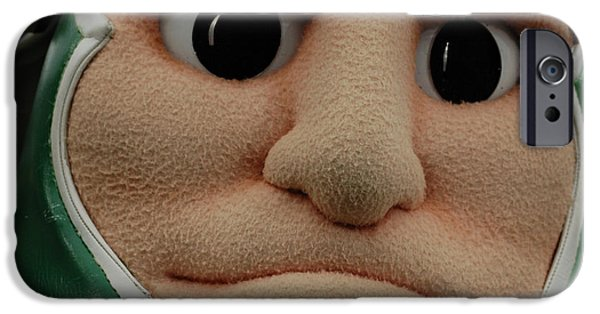 Sparty Face  IPhone 6s Case by John McGraw