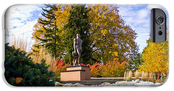 Sparty In Autumn  IPhone 6s Case by John McGraw