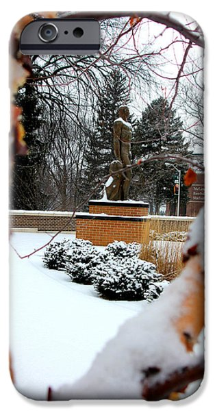 Sparty In The Winter IPhone 6s Case by John McGraw