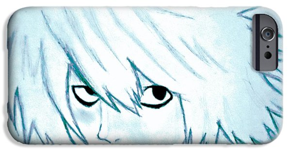 Death Stare IPhone Case by Denise Honaker