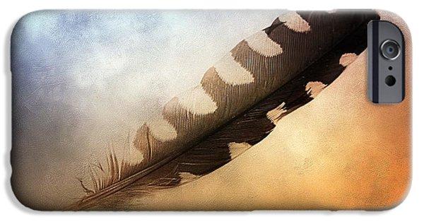 Spirit Feather IPhone Case by Melissa Bittinger