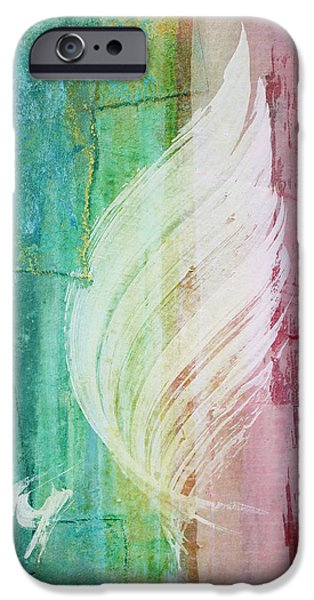 Spirit Of Christmas IPhone Case by Asha Carolyn Young