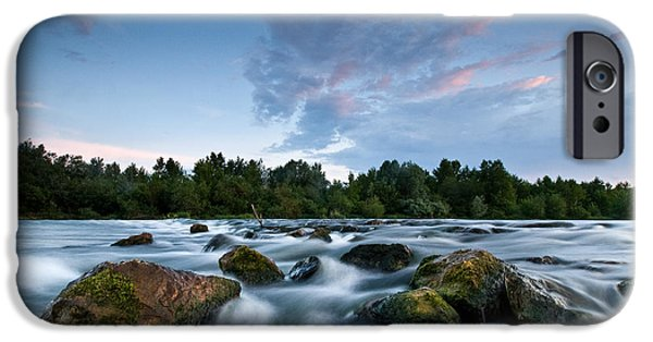Spring Evening IPhone Case by Davorin Mance