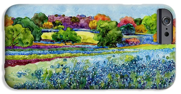 Spring Impressions IPhone Case by Hailey E Herrera