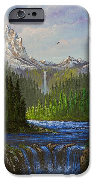 Spring In The Rockies IPhone Case by C Steele