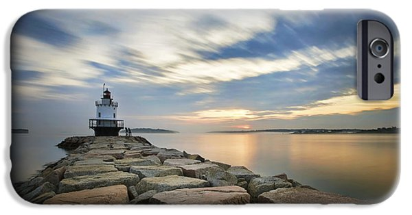 Spring Point Sunrise IPhone Case by Eric Gendron