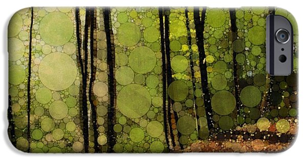 Spring Trees IPhone Case by Steven Boland