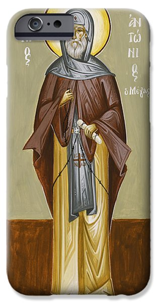 St Anthony IPhone Case by Julia Bridget Hayes