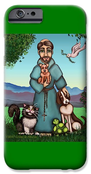 St. Francis Libertys Blessing IPhone 6s Case by Victoria De Almeida