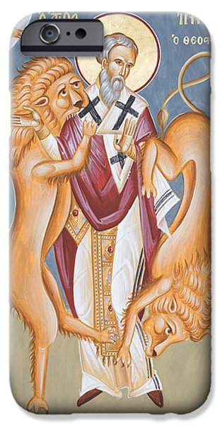 St Ignatius Of Antioch IPhone Case by Julia Bridget Hayes