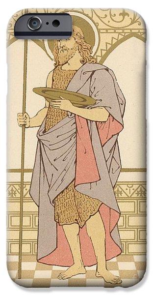 St John The Baptist IPhone Case by English School