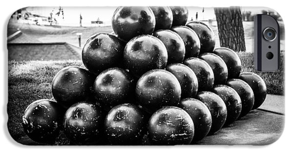 St. Joseph Michigan Cannon Balls Picture IPhone Case by Paul Velgos