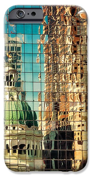 St. Louis Old Courthouse Reflected IPhone Case by Jon Woodhams