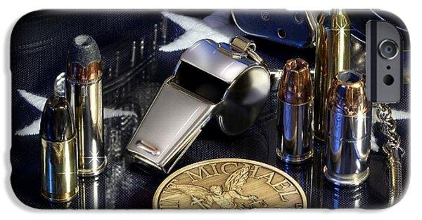 St Michael Law Enforcement IPhone Case by Gary Yost