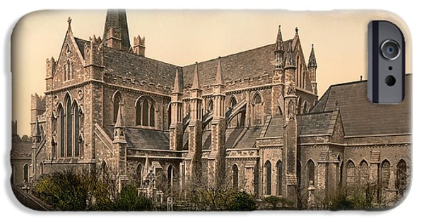 St Patrick's Cathedral - Dublin Ireland 1897 IPhone Case by Mountain Dreams