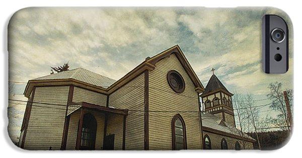 St. Pauls Anglican Church IPhone Case by Priska Wettstein