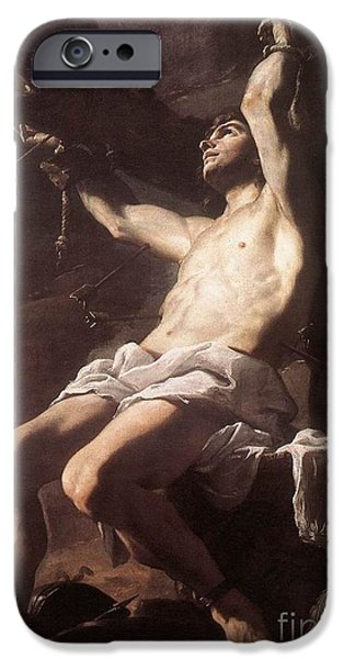 St Sebastian IPhone Case by Celestial Images