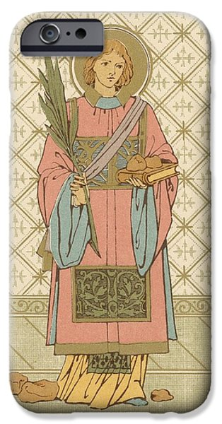St Stephen IPhone Case by English School