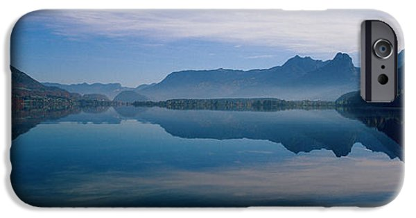 St. Wolfgangsee And Alps Salzkammergut IPhone Case by Panoramic Images