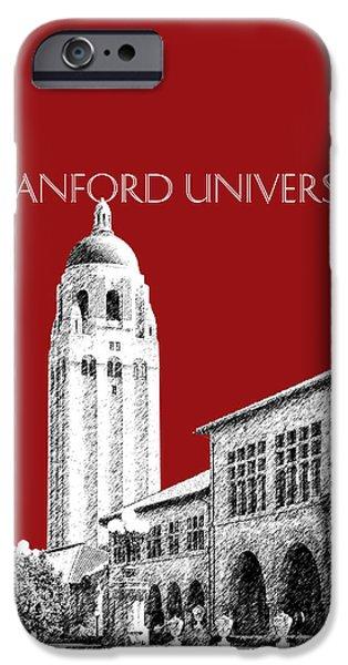 Stanford University - Dark Red IPhone 6s Case by DB Artist