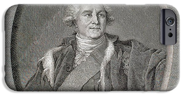 Stanislaus II Poniatowski Augustus IPhone Case by Prisma Archivo