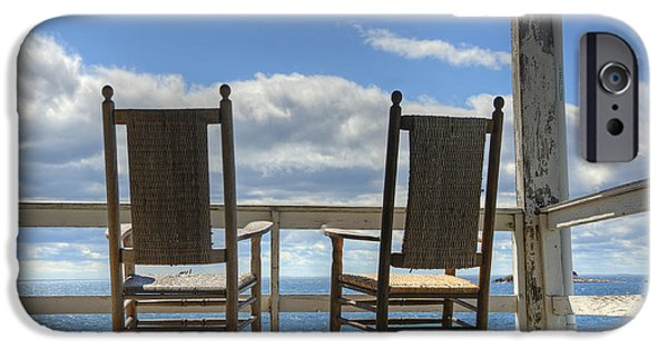 Star Island Rocking Chairs IPhone Case by Donna Doherty