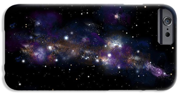 Starfield No.122712 IPhone Case by Marc Ward