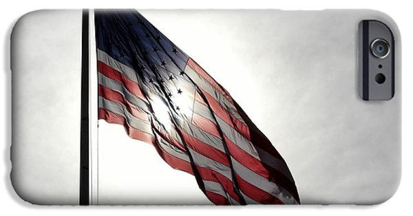 Stars And Stripes IPhone Case by Kenny Glotfelty