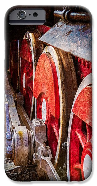 Steam And Iron - Rods And Wheels IPhone Case by Alexander Senin