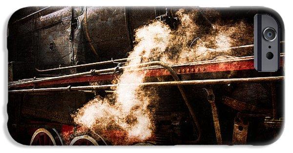 Steam And Iron - Steam Power IPhone Case by Alexander Senin