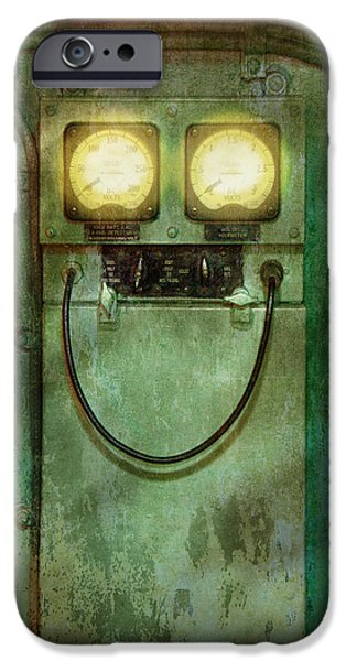 Steampunk - Be Happy IPhone Case by Mike Savad