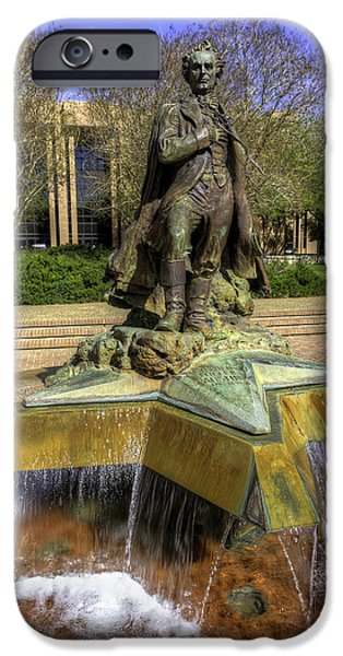 Stephen F. Austin Statue IPhone 6s Case by Tim Stanley