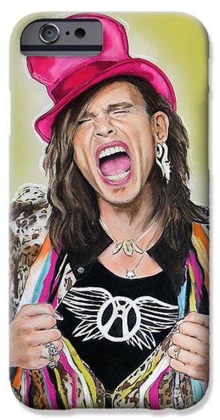 Steven Tyler 2 IPhone 6s Case by Melanie D