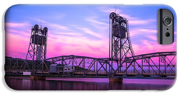 Stillwater Lift Bridge IPhone Case by Adam Mateo Fierro