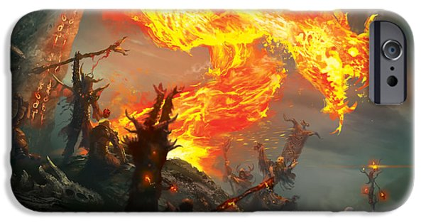 Stoke The Flames IPhone Case by Ryan Barger