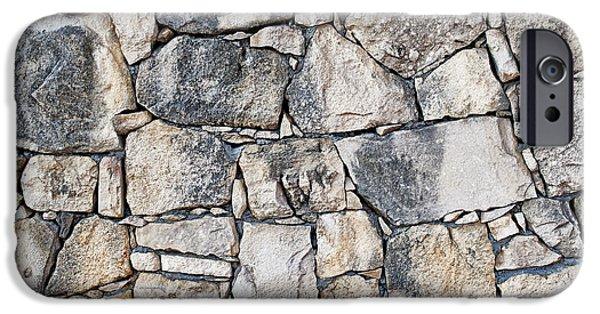 Stone Wall Texture IPhone 6s Case by Antony McAulay