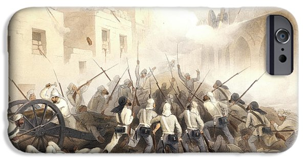 Storming Of Delhi IPhone Case by British Library
