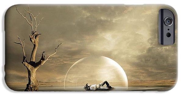 strange Dreams IPhone Case by Franziskus Pfleghart