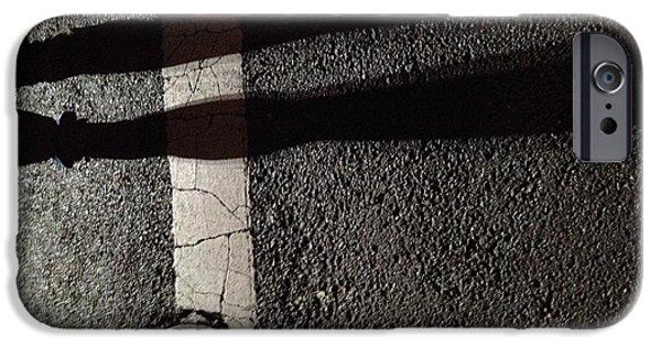 Street Shadow IPhone Case by H James Hoff