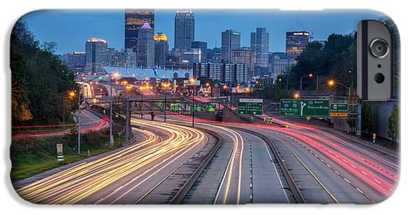 Streaming Into Town IPhone Case by Jennifer Grover