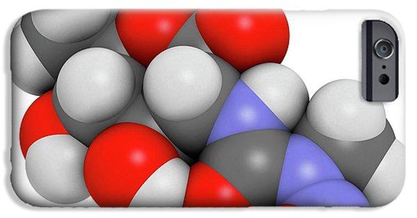Streptozotocin Cancer Drug Molecule IPhone Case by Molekuul