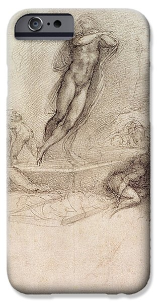 Study For An Ascension IPhone Case by Michelangelo Buonarroti