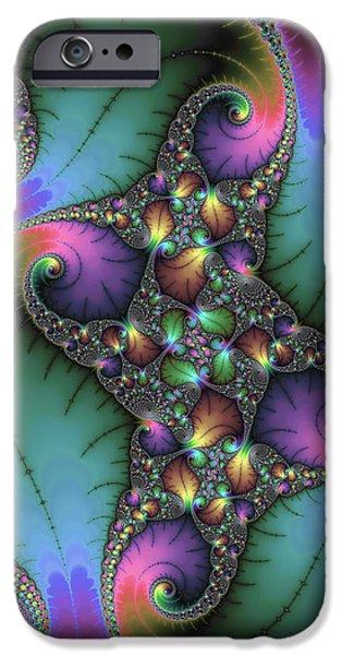 Stunning Mandelbrot Fractal IPhone Case by Matthias Hauser