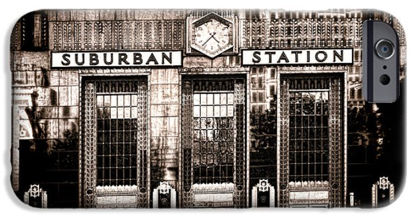 Suburban Station IPhone 6s Case by Olivier Le Queinec